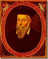 Nostradamus retratado por su hijo César