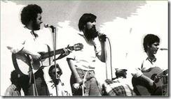 La Fanega en Villalar de los Comuneros, 1977. Chusma, Eugenio y Chilo