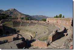 Teatro griego de Taormina, Sicilia, que dio nombre al grupo