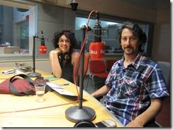 """Carlos de Abuín y Yolanda Yone en """"Discópolis"""""""