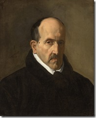 Luis de Góngora y Argote, por Diego Rodríguez de Silva y Velázquez (1599 - 1660)