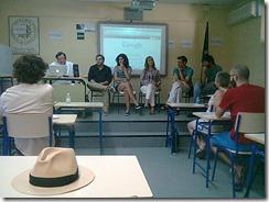 En el coloquio, además de los alumnos y alumnas que participaron
