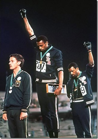 Tommie Smith y John Carlos; Olimpiadas 1968
