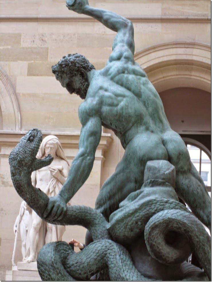 La Hidra de Lerna y Hércules, de François J. Bosio