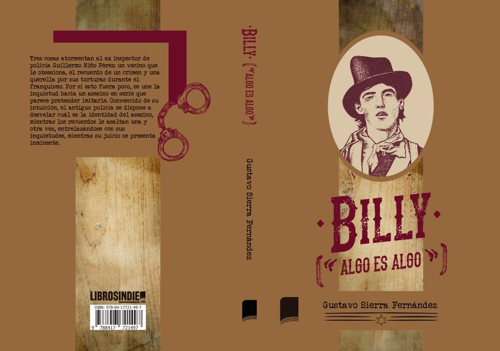 "Cubierta de Bill (""algo es algo""), diseñada por Christian Pithalua"