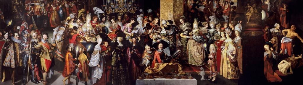arte barroco Bartholomäus Stroble El Prado Juan Bautista Herodes